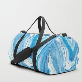 Agate Watercolor 12 Duffle Bag
