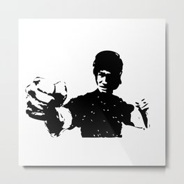 fist of fury Metal Print