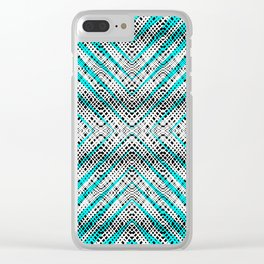Breeze Blue - Optical Series 009 Clear iPhone Case