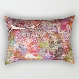 Riverside map Rectangular Pillow