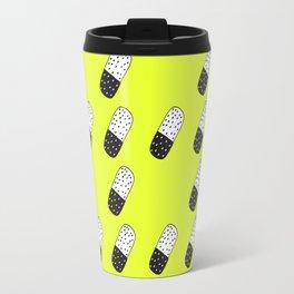 Take a neon pill Travel Mug