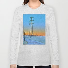 Power lines 13 Long Sleeve T-shirt