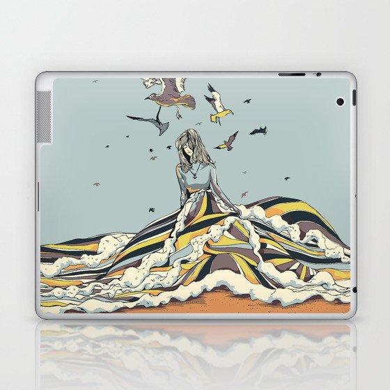 WALK ON THE OCEAN Laptop & iPad Skin