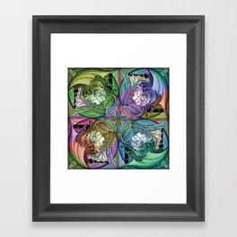 Dream Girl & Lucky Framed Art Print