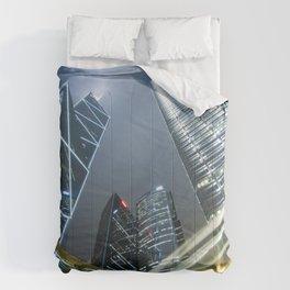 Hong Kong Night City Comforters