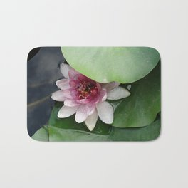 Beautiful Lotus Flower Bath Mat
