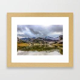 Lakes of Covadonga Framed Art Print