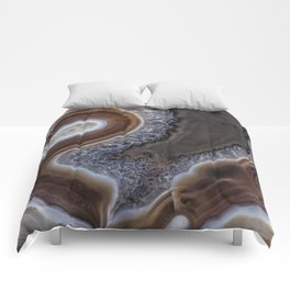 """Agate crystal texture #2 """"more detail"""" Comforters"""