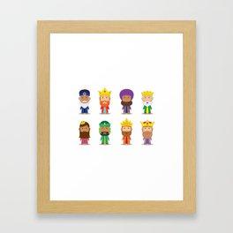 Happy Epiphany Day Framed Art Print
