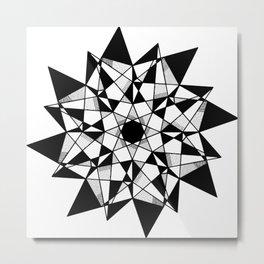 Mandala 0055 Metal Print