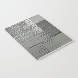 Gray Lines Notebook