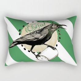 Crows Love CAW-FEE Rectangular Pillow