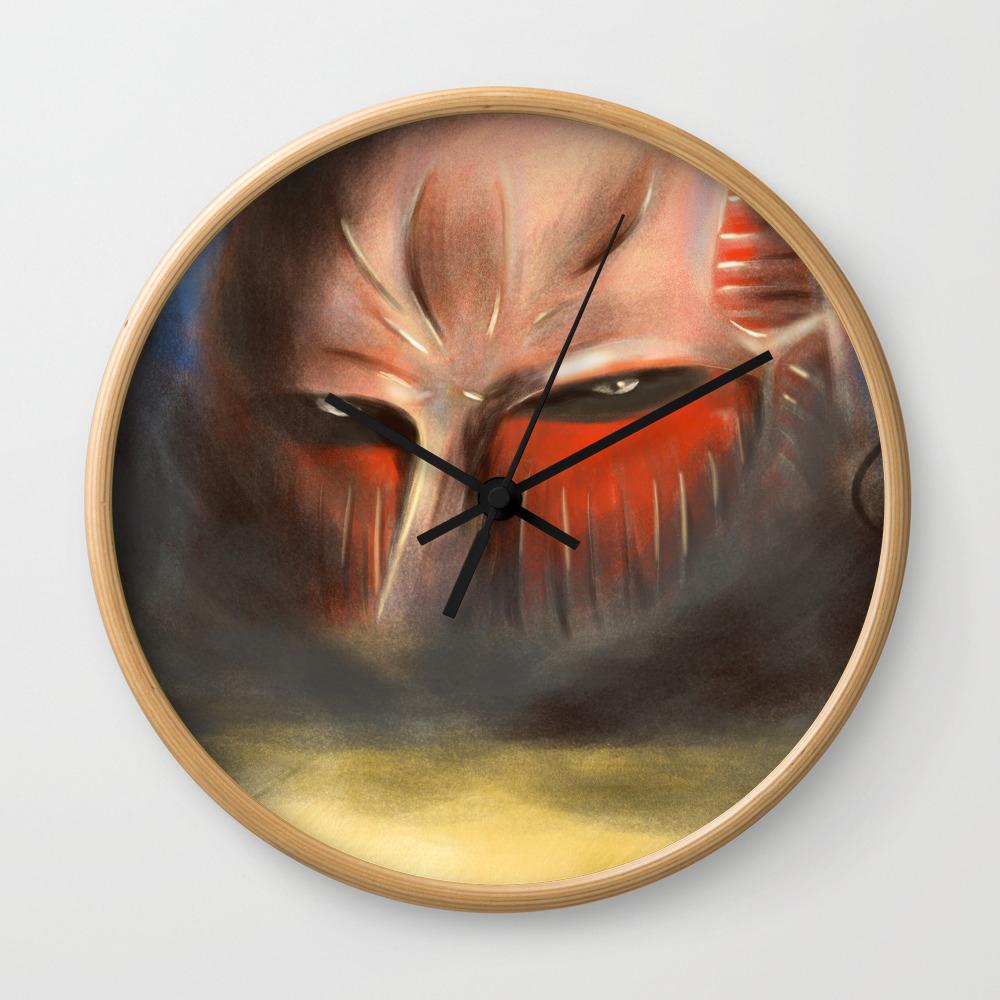 The Colossal Titan Shingeki No Kyojin Wall Clock By Amtdigital Society6