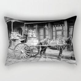 New Orleans milk cart Rectangular Pillow