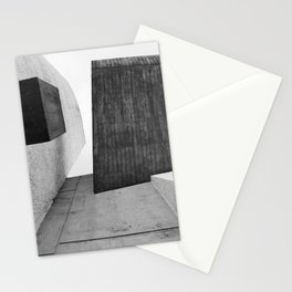 Ronchamp | Notre Dame du Haut chapel | Le Corbusier architect Stationery Cards