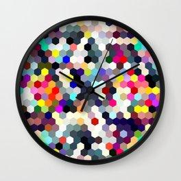 Honeycomb No. 1 Wall Clock