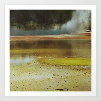 new zealand Art Prints featuring New Zealand by Kate L Porter