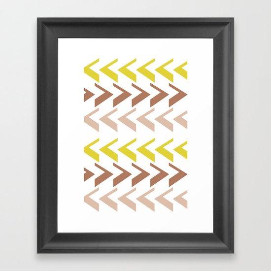 Ethnique Framed Art Print