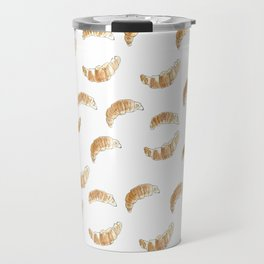 Pattern design with croissants Travel Mug