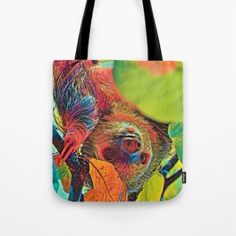 AnimalColor_Sloth_001_by_JAMColors Tote Bag