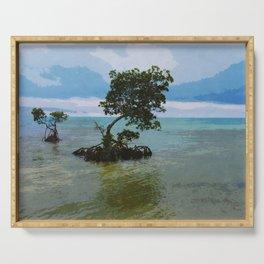 Mangrove Landscape Serving Tray