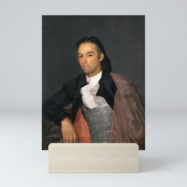 "Francisco Goya ""Portrait of the Matador Pedro Romero"" Mini Art Print"