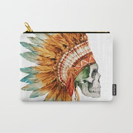 Skull 03 Carry-All Pouch