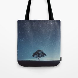 Space Station Flyby Tote Bag