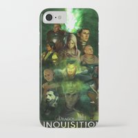 dragon age inquisition iPhone & iPod Cases featuring The Inquisition by Nero749