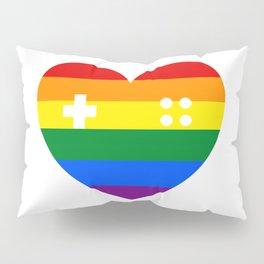 Rainbow Gamer Pillow Sham