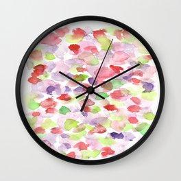 150725 My Happy Bubbles 8 Wall Clock