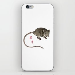 Year of the Mouse iPhone Skin