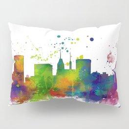 Baltimore Skyline Pillow Sham