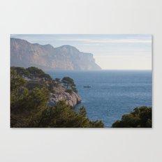 Calanques de Cassis 8615 Canvas Print