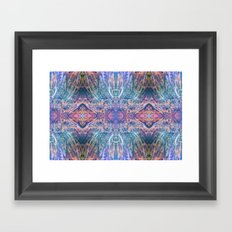 WIZARD EYES Framed Art Print