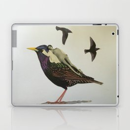 Resting on the Wings of Impatience Laptop & iPad Skin