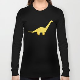 Origami Diplodocus Long Sleeve T-shirt