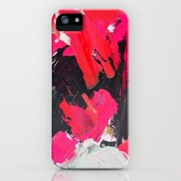 Hot Pink Franz iPhone Case
