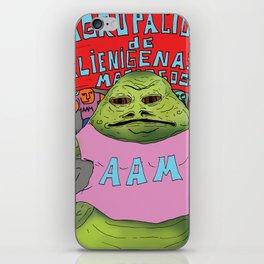 Jabba the moyan iPhone Skin