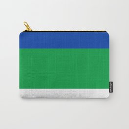 flag of Komi Carry-All Pouch