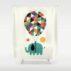 Fly High And Dream Big Shower Curtain
