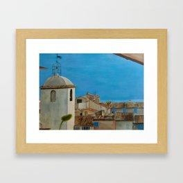 St. Tropez Framed Art Print
