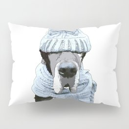 Great Dane Winter is Here Pillow Sham