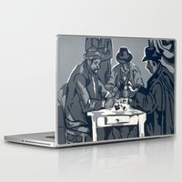 poker Laptop & iPad Skins featuring Poker Game by Kasey Jane