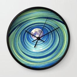 Moon Lights Wall Clock