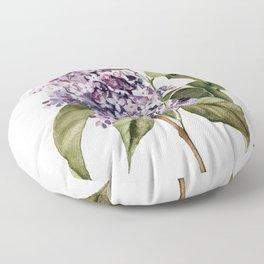 Lilac Branch Floor Pillow