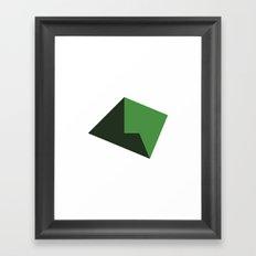 #119 Plains – Geometry Daily Framed Art Print