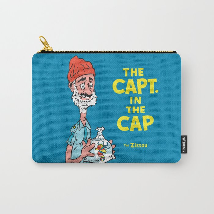 The Capt. In The Cap Carry-All Pouch