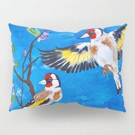 Goldfinches Pillow Sham