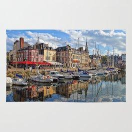 Honfleur Pretty As A Postcard Rug